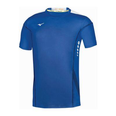 Men Hex Rect Tee Erkek T-shirt Mavi