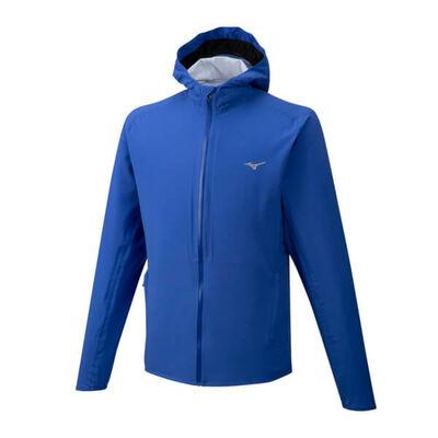 Mizuno 20K Er Jacket Erkek Yağmurluk Mavi