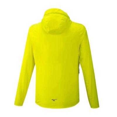 Mizuno 20K Er Jacket Erkek Yağmurluk Sarı