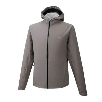 Mizuno 20K Er Jacket Erkek Yağmurluk Gri