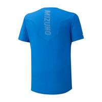 Mizuno Aero Tee Erkek T-Shirt Mavi - Thumbnail