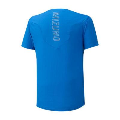 Mizuno Aero Tee Erkek T-Shirt Mavi/Lacivert