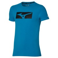 Athletic Rb Tee Erkek T-Shirt Mavi - Thumbnail
