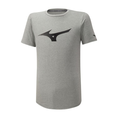 Mizuno Athletic Rb Tee Erkek T-Shirt Gri