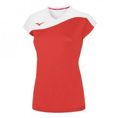 Authentic Myou Tee Kadın T-shirt Kırmızı/Beyaz