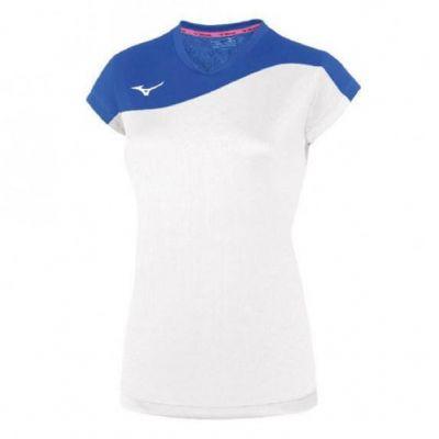 Authentic Myou Tee Kadın T-shirt Beyaz/Mavi