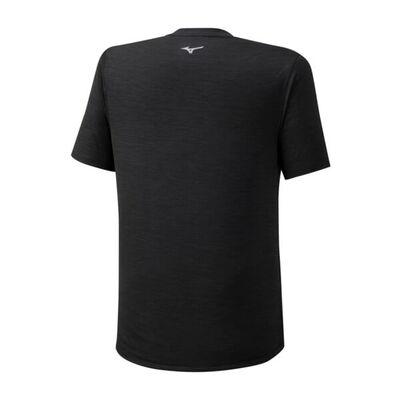 Mizuno Core Graphic Rb Tee Erkek T-Shirt Siyah