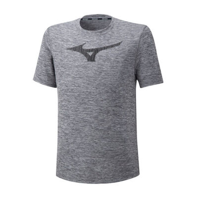 Mizuno Core Graphic Rb Tee Erkek T-Shirt Gri