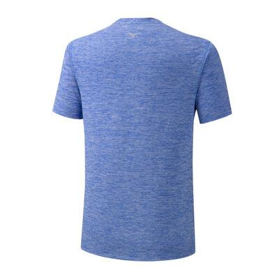 Mizuno Core Graphic Tee Unisex T-Shirt Mavi