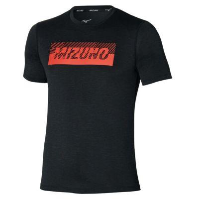 Core Graphic Tee Erkek T-Shirt Siyah/Kırmızı