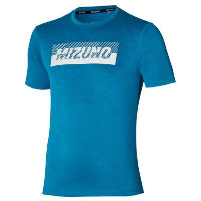 Core Graphic Tee Erkek T-Shirt Mavi