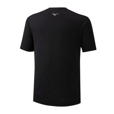 Mizuno Core Rb Graphic Tee Erkek T-Shirt Siyah