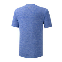 Mizuno Core Rb Graphic Tee Erkek T-Shirt Mavi - Thumbnail