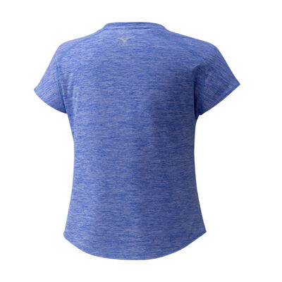 Mizuno Core Rb Graphic Tee Kadın T-Shirt Mavi