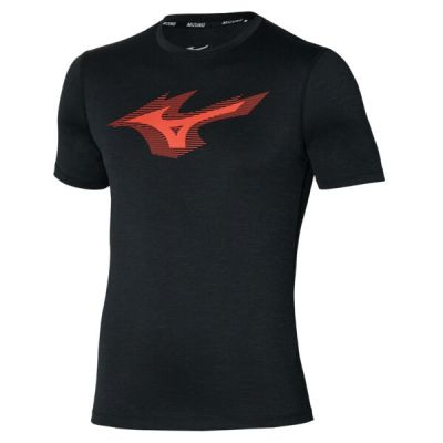 Core Rb Tee Erkek T-Shirt Siyah/Kırmızı