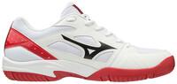 Mizuno Cyclone Speed 2 Unisex Voleybol Ayakkabısı Beyaz / Kırmızı - Thumbnail