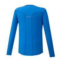 Mizuno Dry Aeroflow Ls Hz Erkek T-Shirt Mavi - Thumbnail