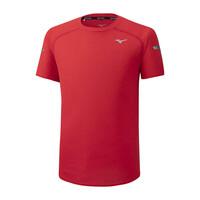 Mizuno Dry AeroFlow Tee Erkek T-shirt Kırmızı - Thumbnail