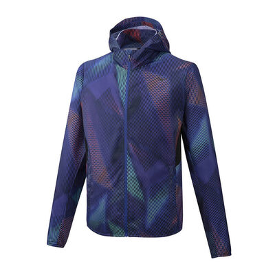 Mizuno Hoodie Jacket Erkek Yağmurluk Lacivert