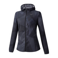 Hoody Jacket Kadın Yağmurluk Siyah - Thumbnail