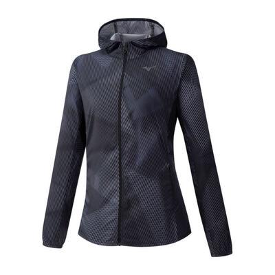 Hoody Jacket Kadın Yağmurluk Siyah