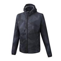 Mizuno Hoodie Jacket Erkek Yağmurluk Siyah - Thumbnail