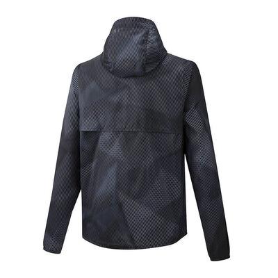 Hoody Jacket Erkek Yağmurluk Siyah