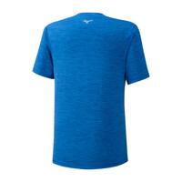 Mizuno İmpulse Core Tee Erkek T-Shirt Mavi - Thumbnail