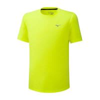 Mizuno İmpulse Core Tee Erkek T-Shirt Sarı - Thumbnail