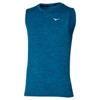Impulse Core Tee Sleeveless Erkek Kolsuz T-shirt Mavi - Thumbnail