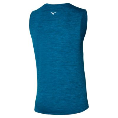 Impulse Core Tee Sleeveless Erkek Kolsuz T-shirt Mavi