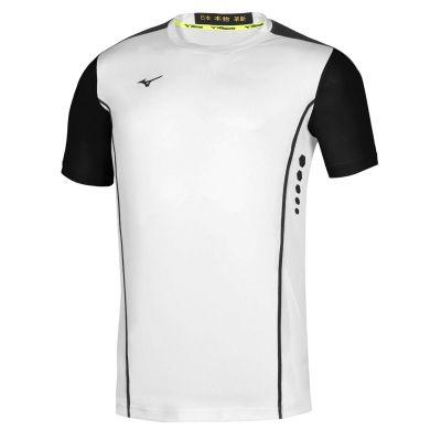 Men Hex Rect Tee Erkek T-shirt Beyaz/Siyah