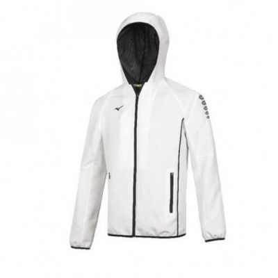 Micro Jacket Erkek Sweatshirt Beyaz
