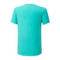 Mizuno Runbird Tee Erkek T-Shirt Yeşil/Desenli - Thumbnail