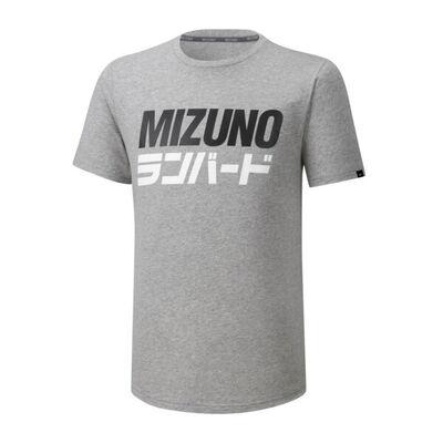 Runbird Tee T-Shirt Gri/Desenli