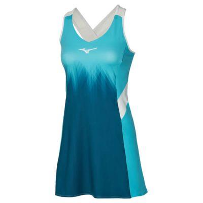 Printed Dress Kadın Tenis Elbisesi Mavi