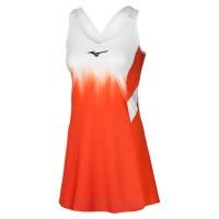Printed Dress Tenis Elbisesi Turuncu/Beyaz - Thumbnail