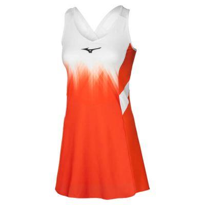 Printed Dress Tenis Elbisesi Turuncu/Beyaz