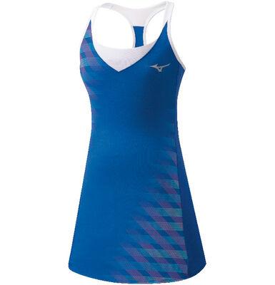 Mizuno Printed Dress Tenis Elbisesi Mavi