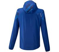 Mizuno Printed Jacket Erkek Yağmurluk Mavi - Thumbnail