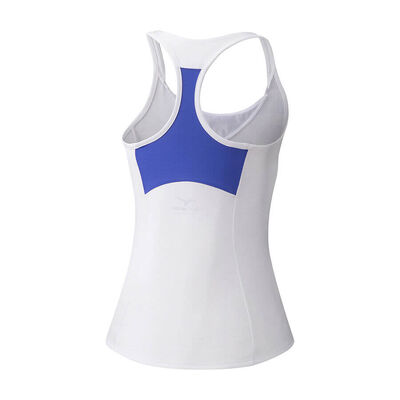 Mizuno Printed Tank Kadın T-shirt Beyaz