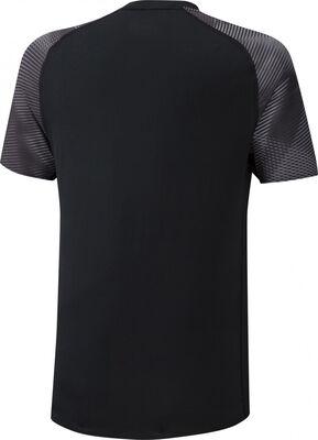 Printed Tee Erkek T-shirt Siyah/Gri