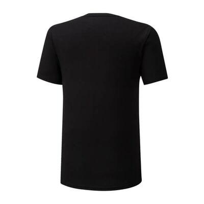 Mizuno Rb Logo Tee Erkek T-Shirt Siyah