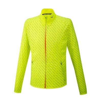 Mizuno Reflect Wind Jacket Erkek Yağmurluk Sarı
