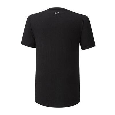 Mizuno Runbird Tee Erkek T-shirt Siyah
