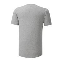 Mizuno Runbird Tee Erkek T-shirt Gri - Thumbnail
