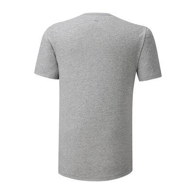 Mizuno Runbird Tee Erkek T-shirt Gri
