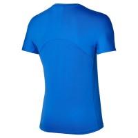 Mizuno Shadow Graphic Tee Erkek Tshirt Mavi/Beyaz - Thumbnail