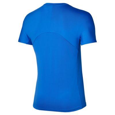 Mizuno Shadow Graphic Tee Erkek Tshirt Mavi/Beyaz