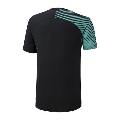 Mizuno Shadow Graphic Tee Erkek T-shirt Siyah/Yeşil